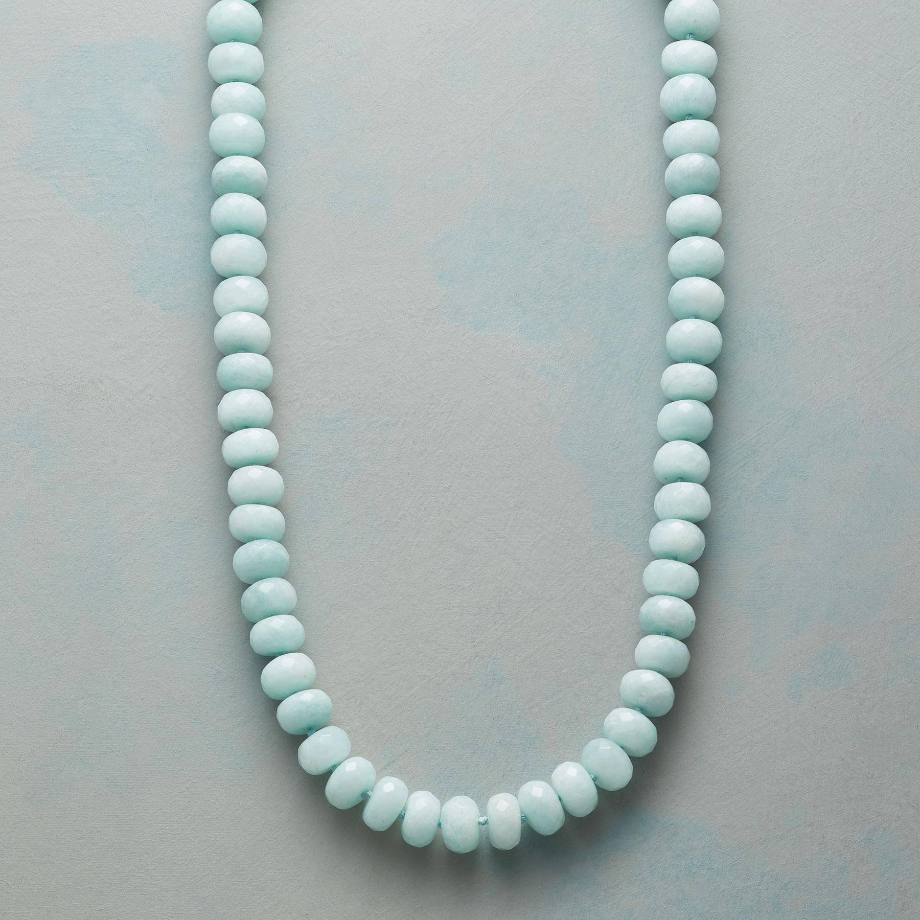 ENDLESSLY AMAZONITE NECKLACE: View 1