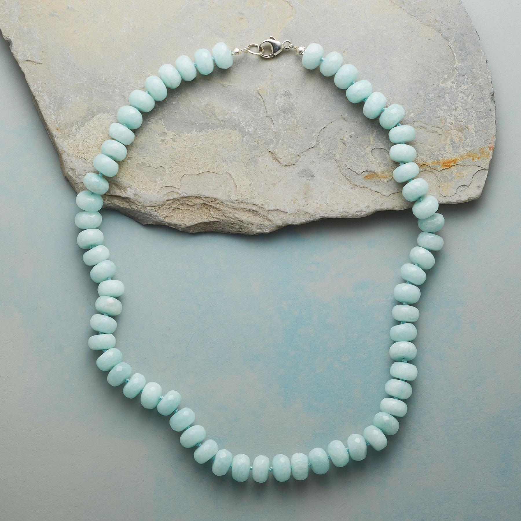 ENDLESSLY AMAZONITE NECKLACE: View 2