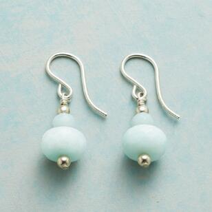 STACKED AMAZONITE EARRINGS