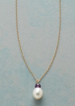 PURE LOVE BIRTHSTONE NECKLACE