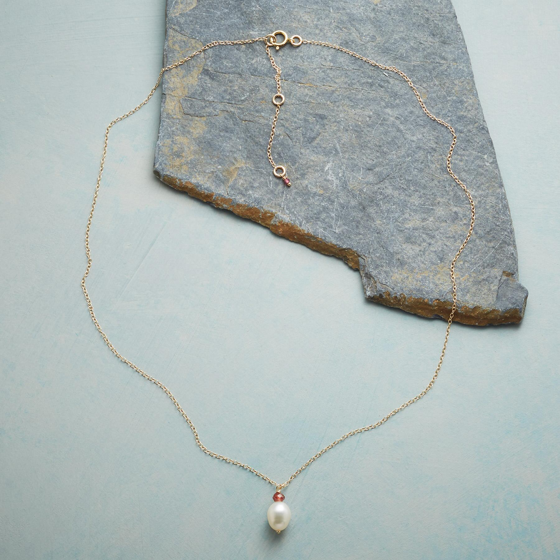 PURE LOVE BIRTHSTONE NECKLACE: View 2