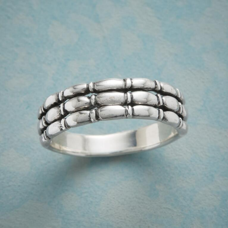 STACKING STERLING RING