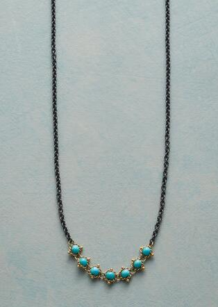 TURQUOISE TAPESTRY NECKLACE