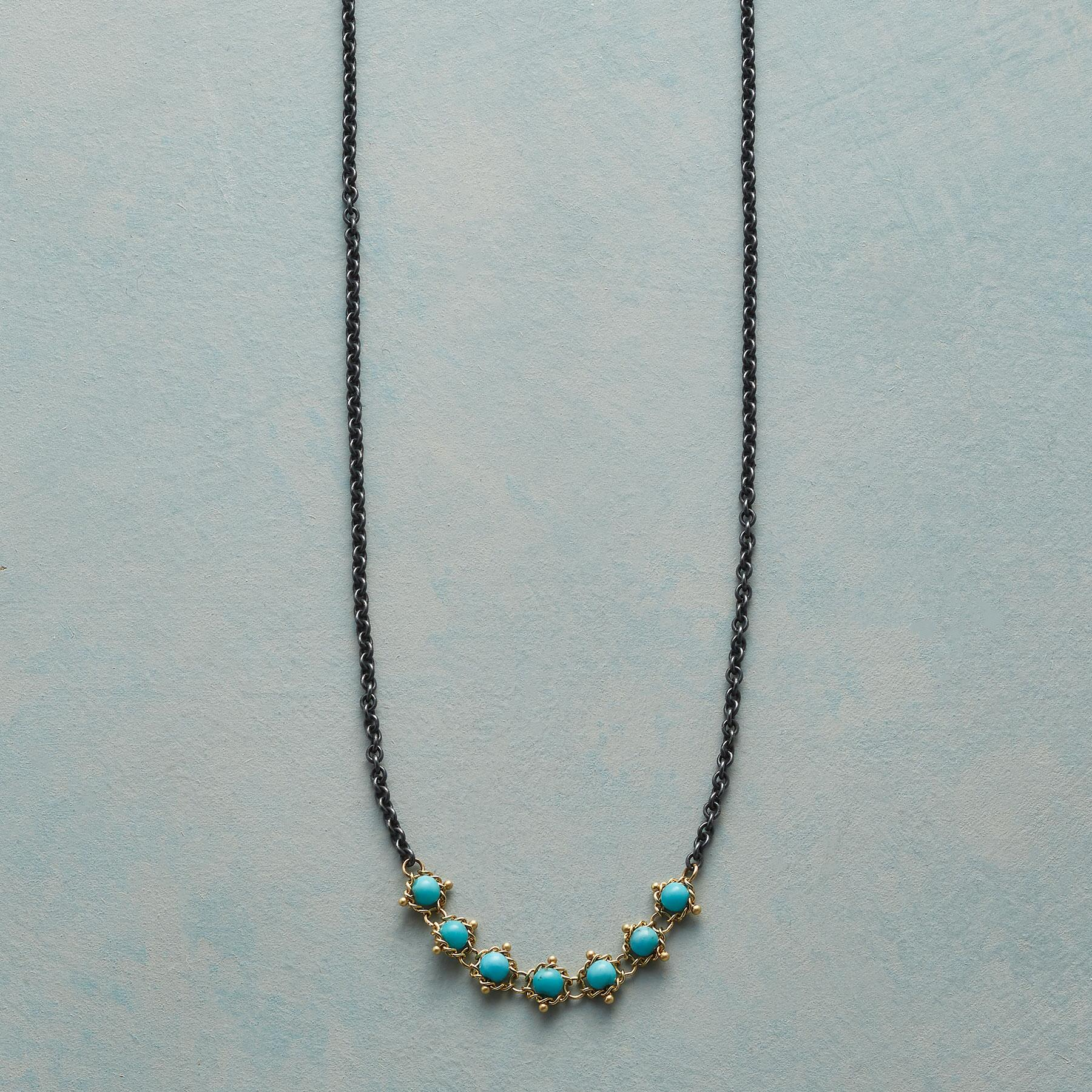 TURQUOISE TAPESTRY NECKLACE: View 1