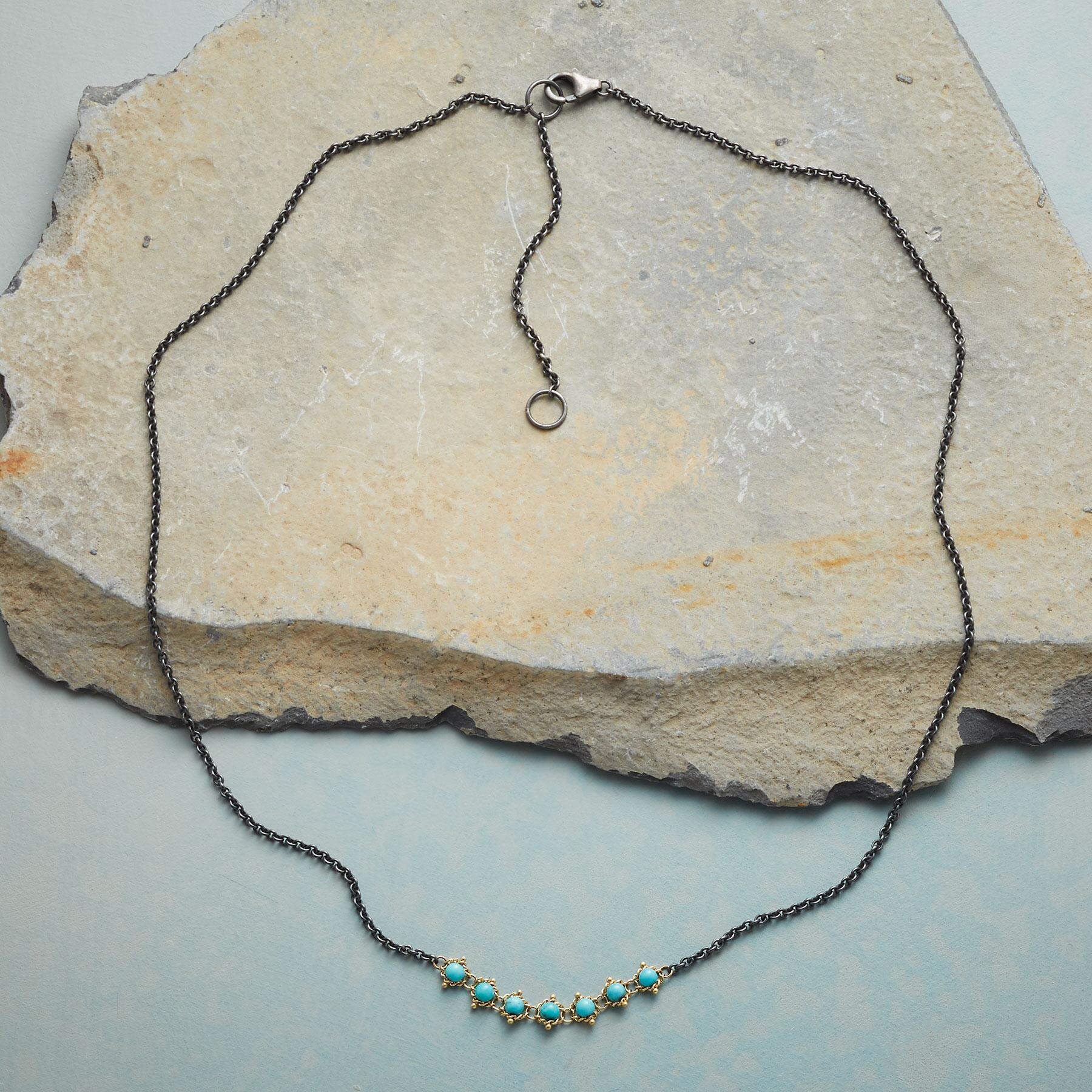 TURQUOISE TAPESTRY NECKLACE: View 2