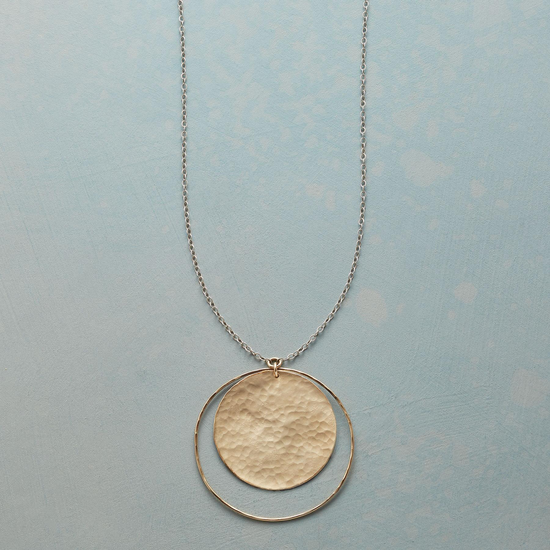 SOLAR CIRCLE NECKLACE: View 1