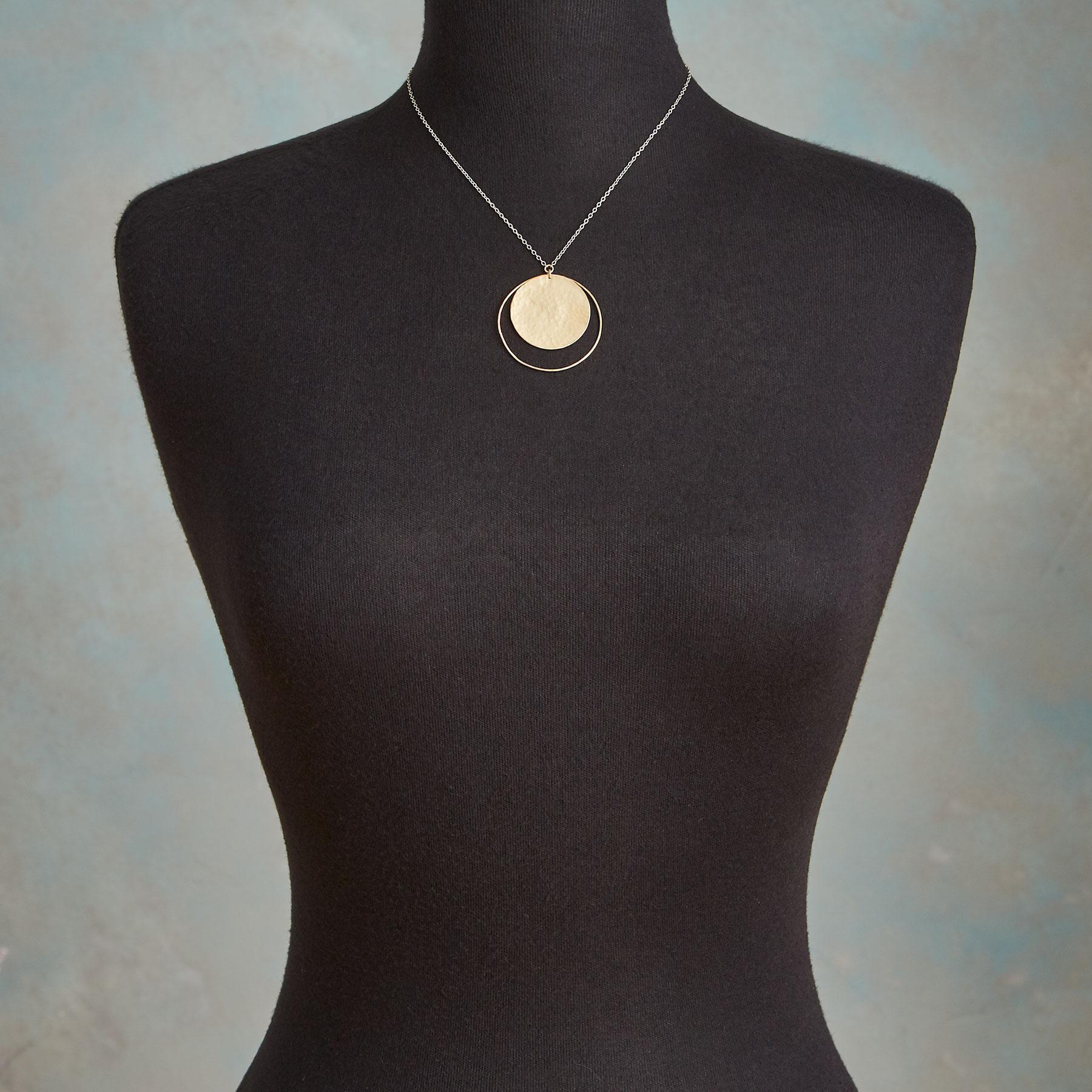SOLAR CIRCLE NECKLACE: View 4