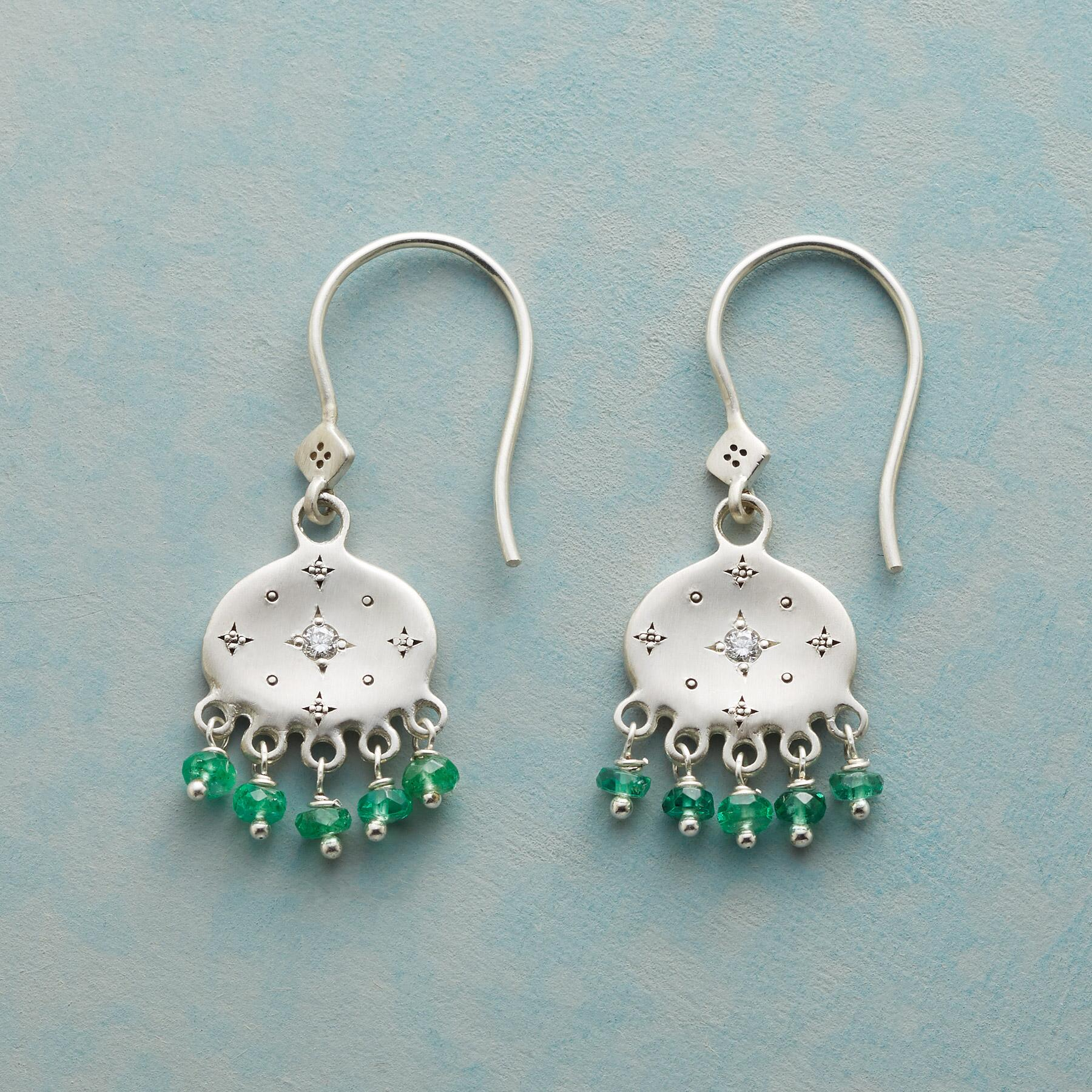 LUCK OF THE IRISH EARRINGS: View 1
