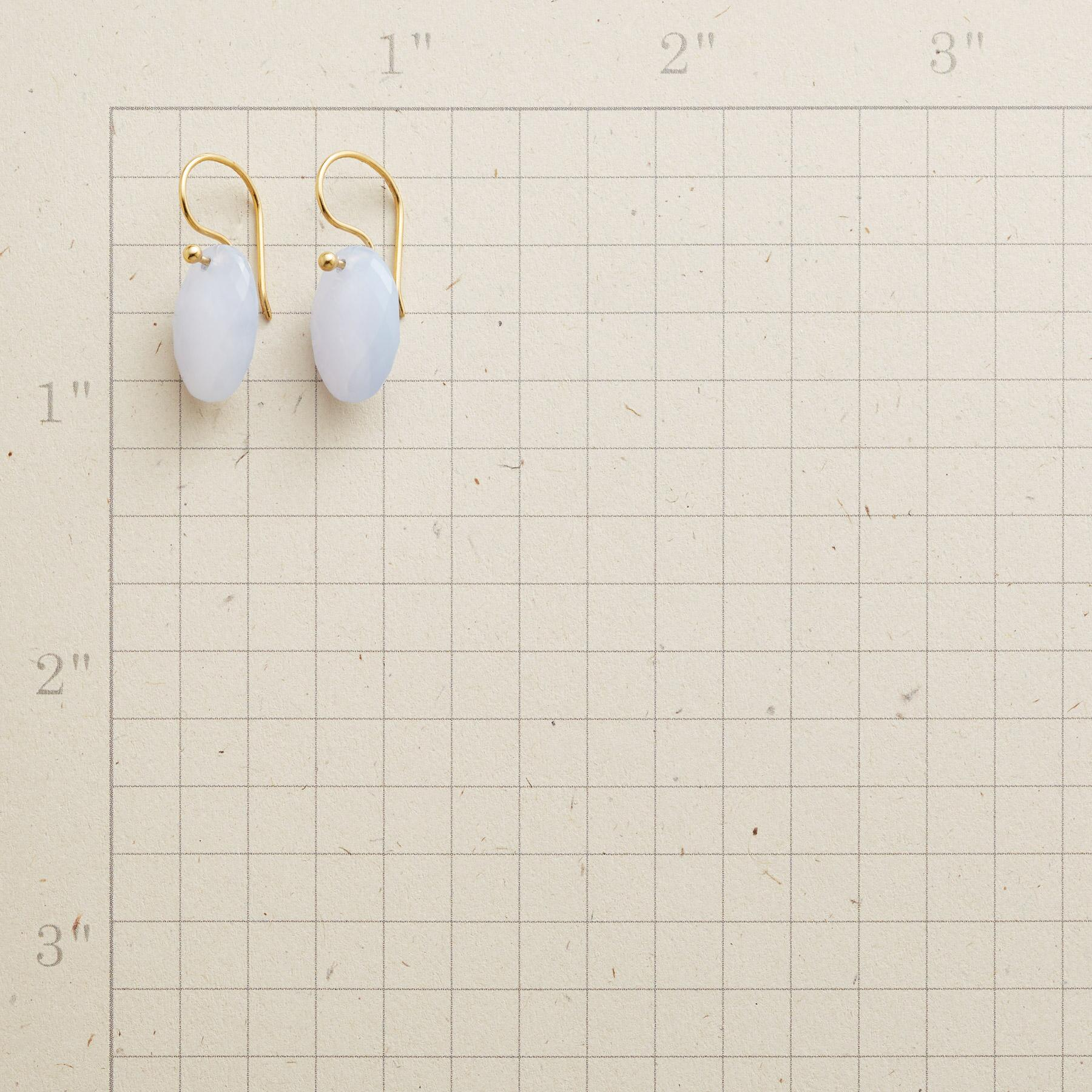 SIMPLY CHALCEDONY EARRINGS: View 2