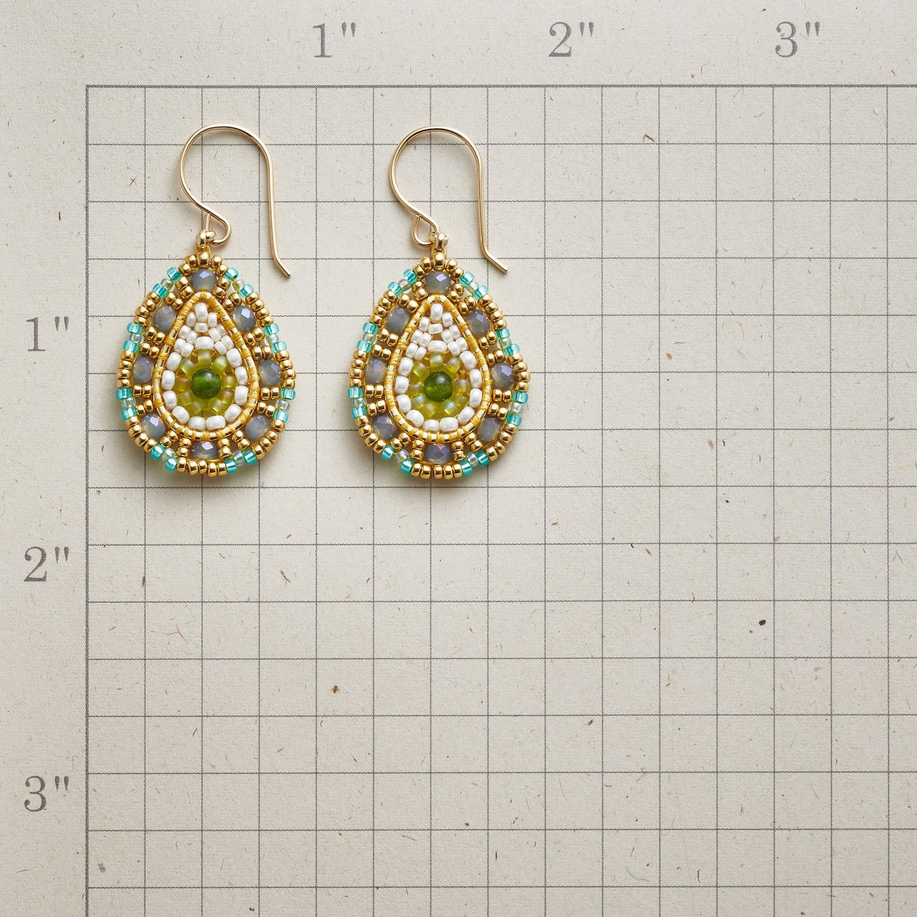 JADE MOUNTAIN EARRINGS: View 2