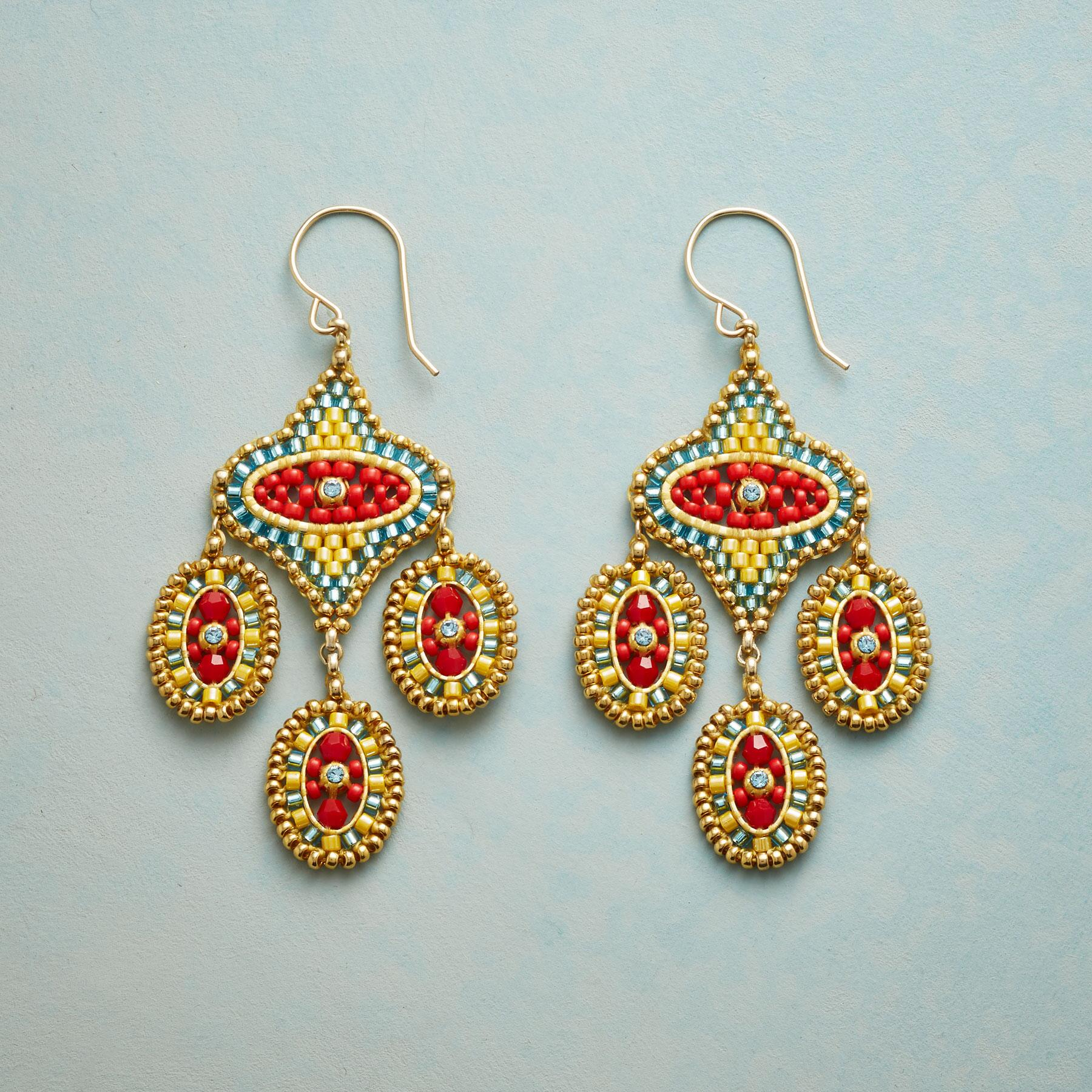 CARMENITA EARRINGS: View 1