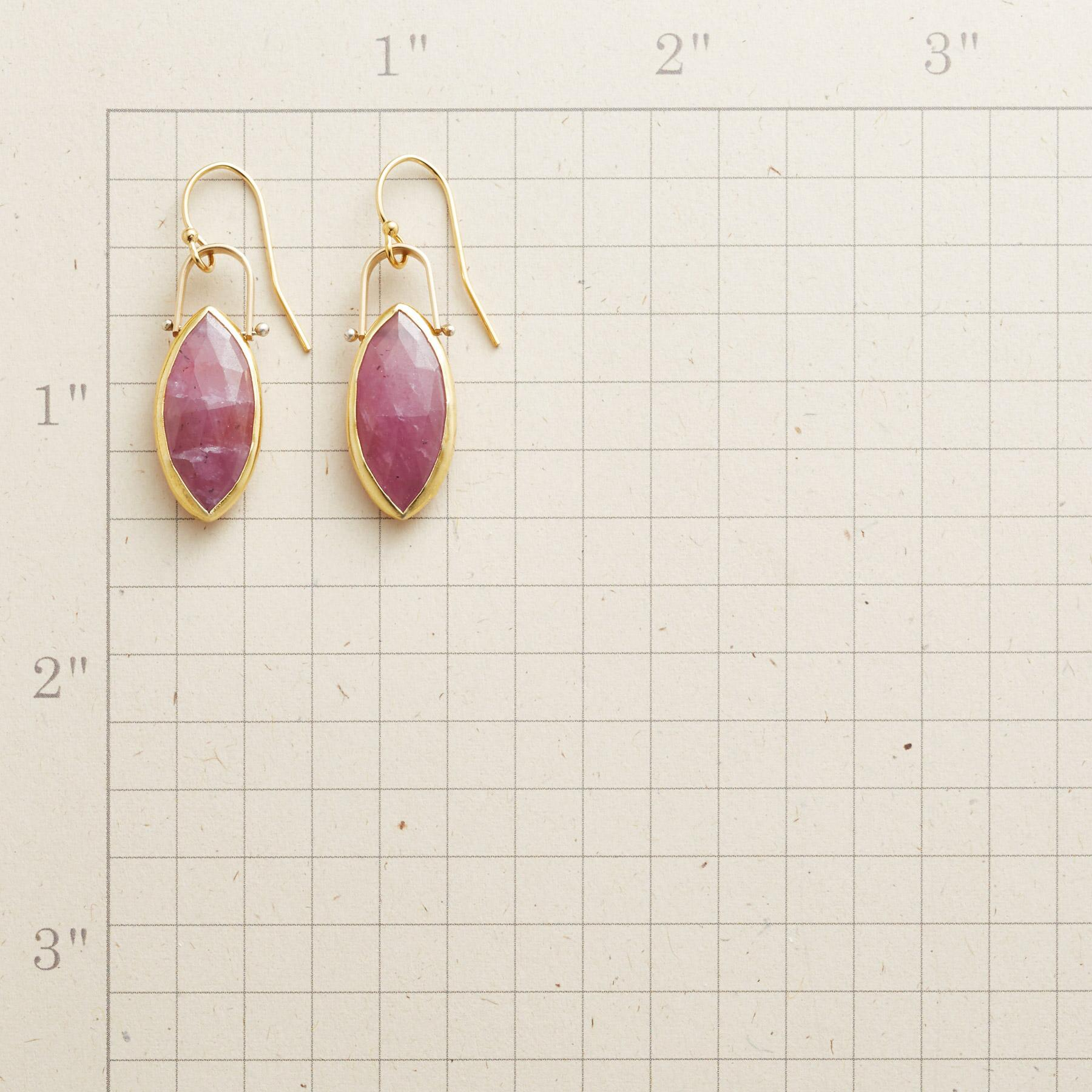 PINK MARQUISE EARRINGS: View 2