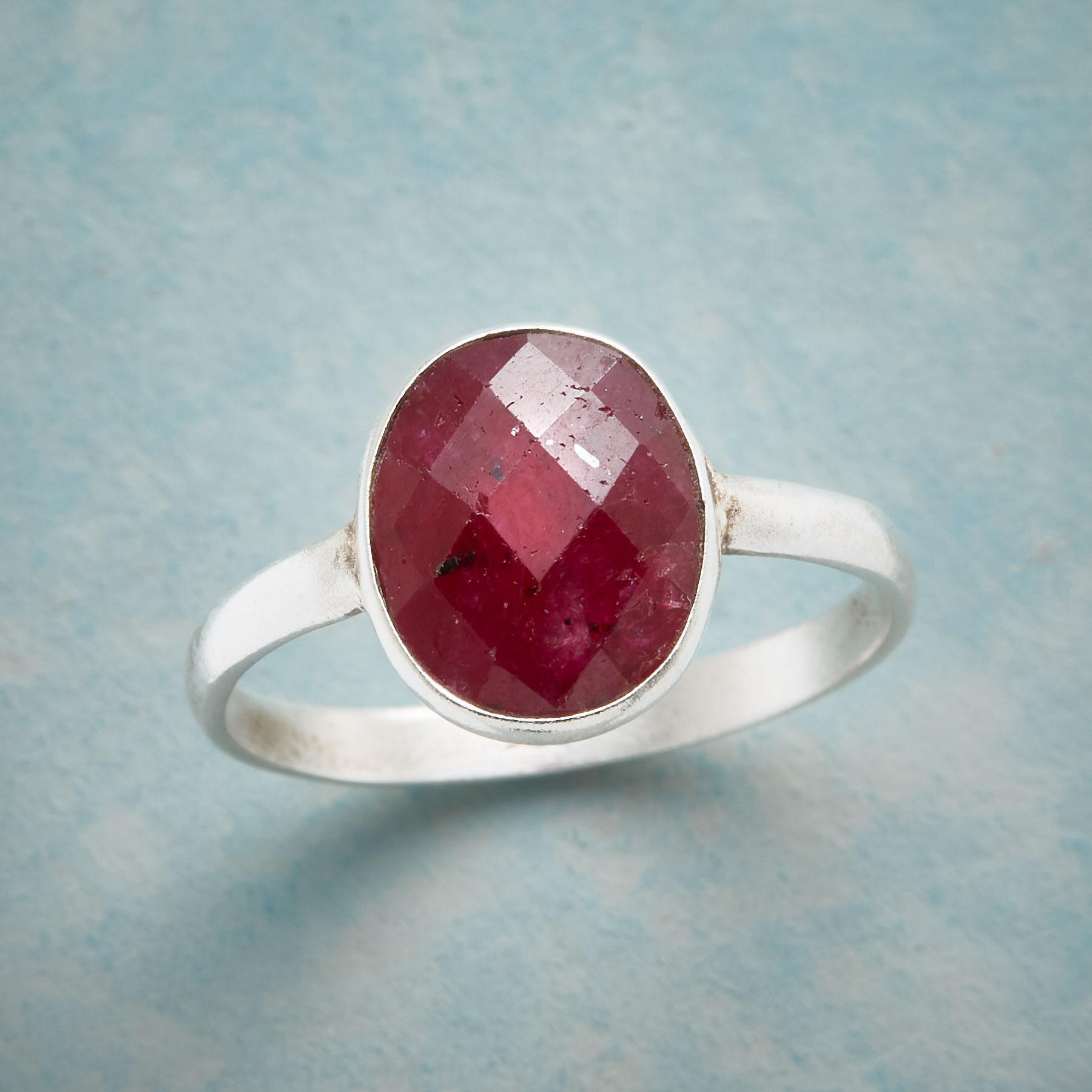 HARLEQUIN RUBY RING: View 1