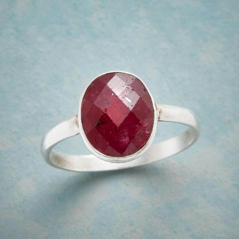 HARLEQUIN RUBY RING