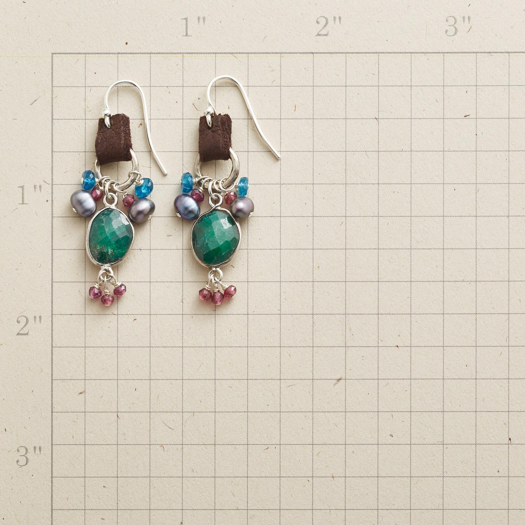 EMERALD AND MORE EARRINGS: View 2