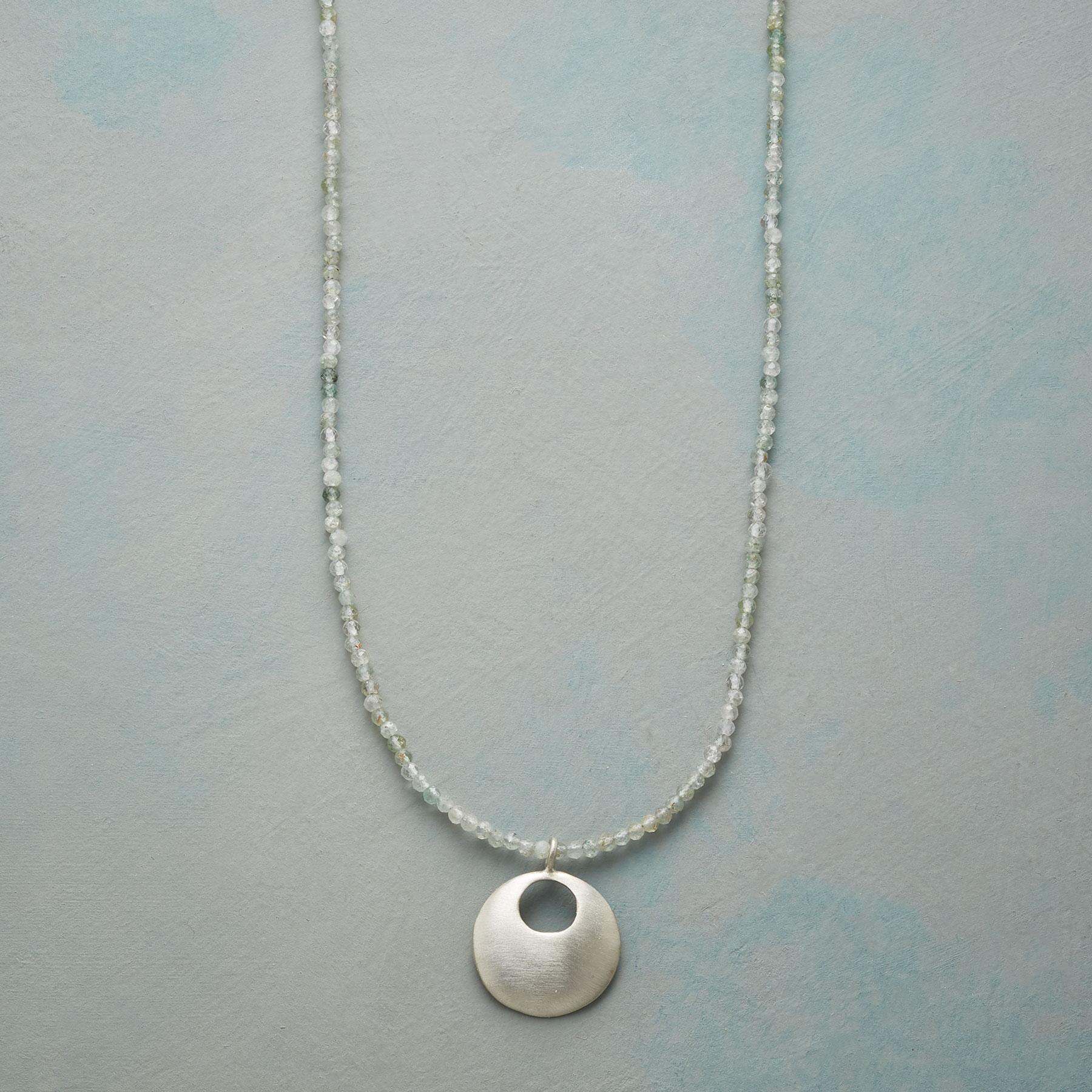 INSIDE CIRCLE NECKLACE: View 1
