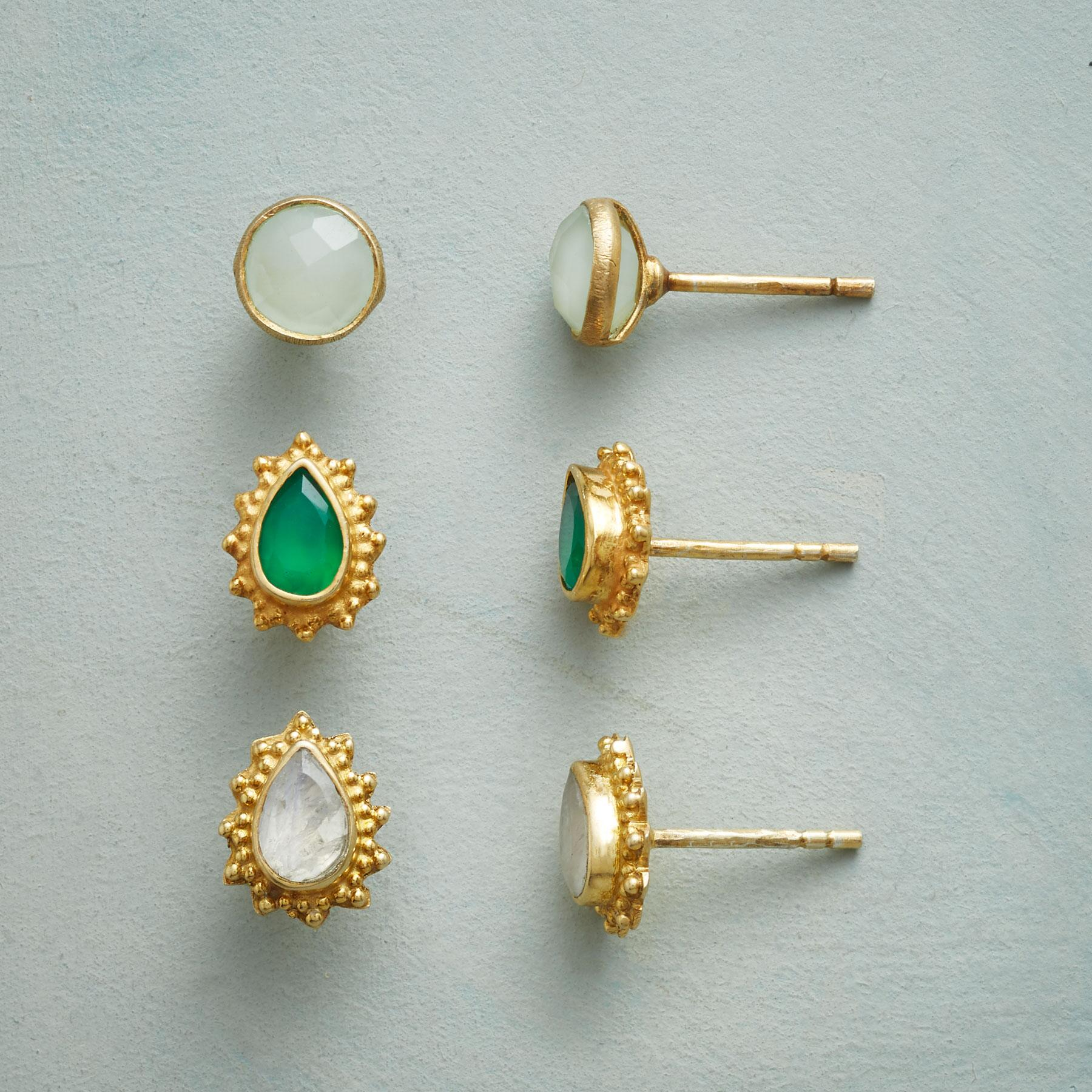 SASHIKA EARRING TRIO: View 1