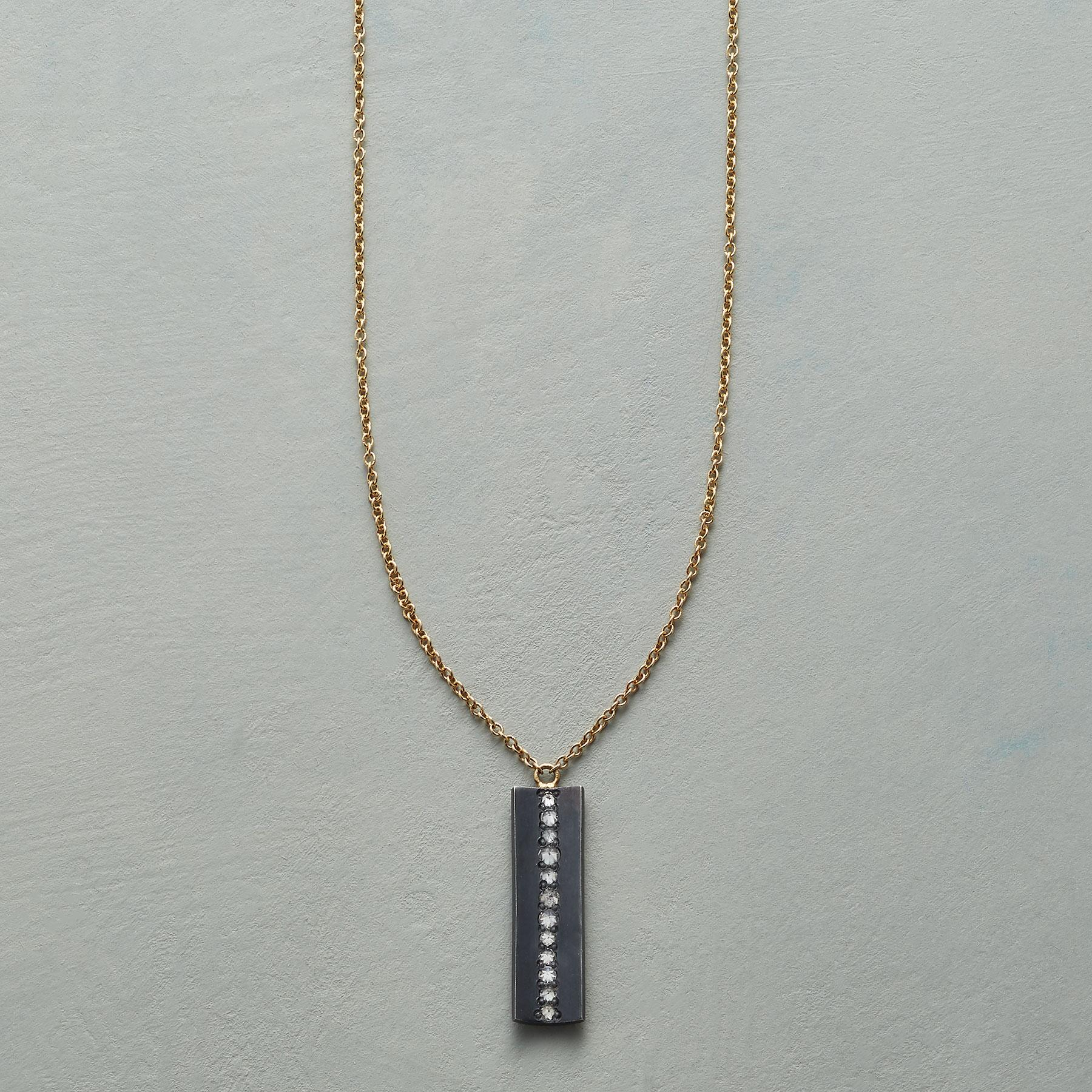 DIAMOND FISSURE NECKLACE: View 1