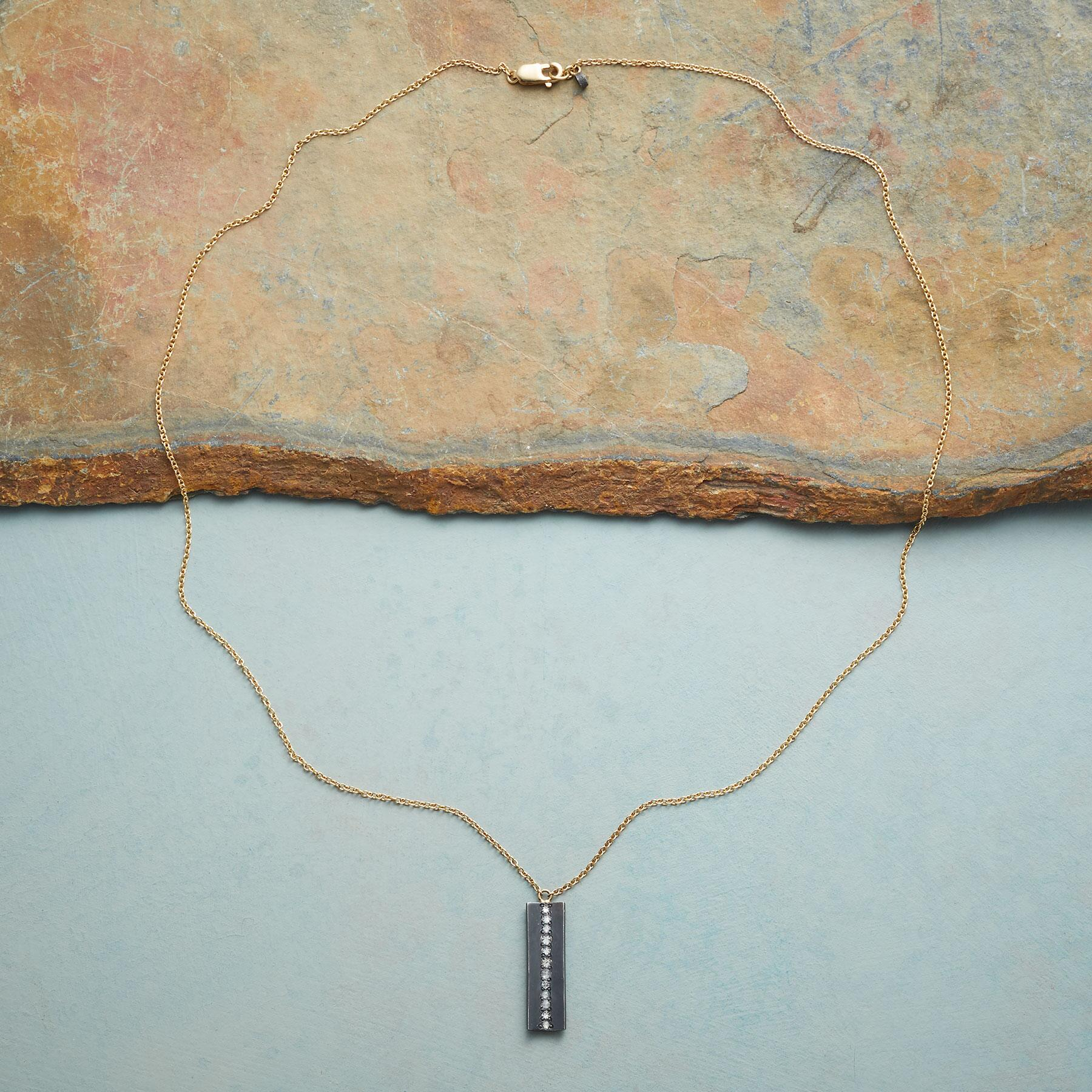 DIAMOND FISSURE NECKLACE: View 2
