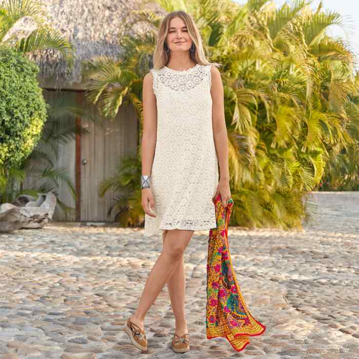 EASY DAYS LACE DRESS