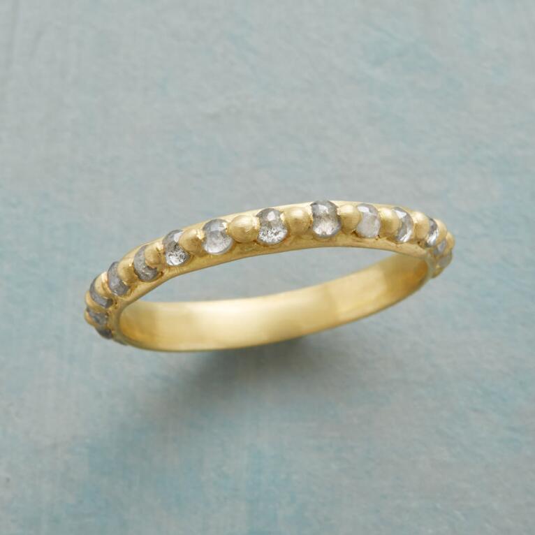 GRAY DIAMONDS FOREVER RING