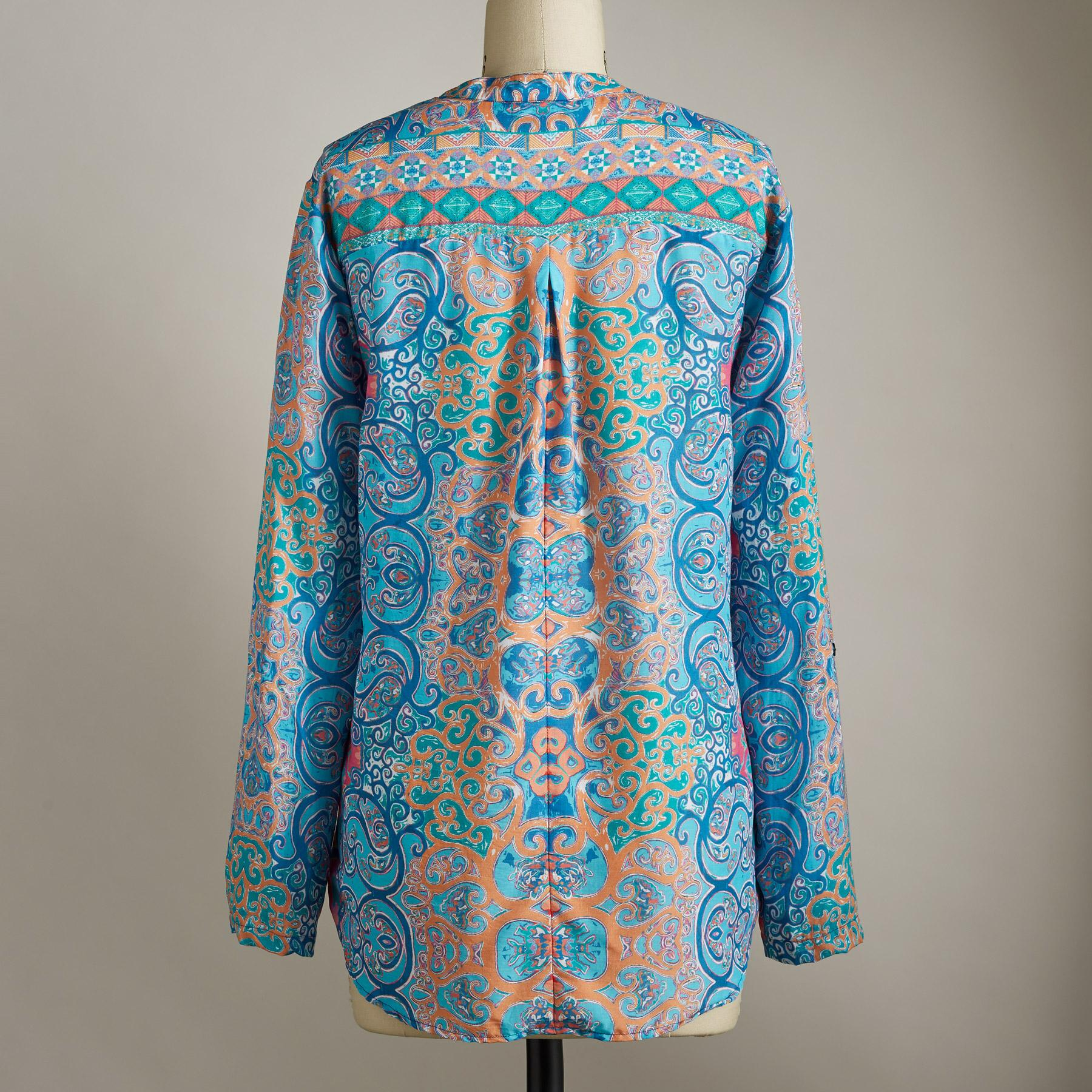 MOROCCAN BREEZE TUNIC: View 2
