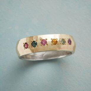 DOTTED TOURMALINE RING