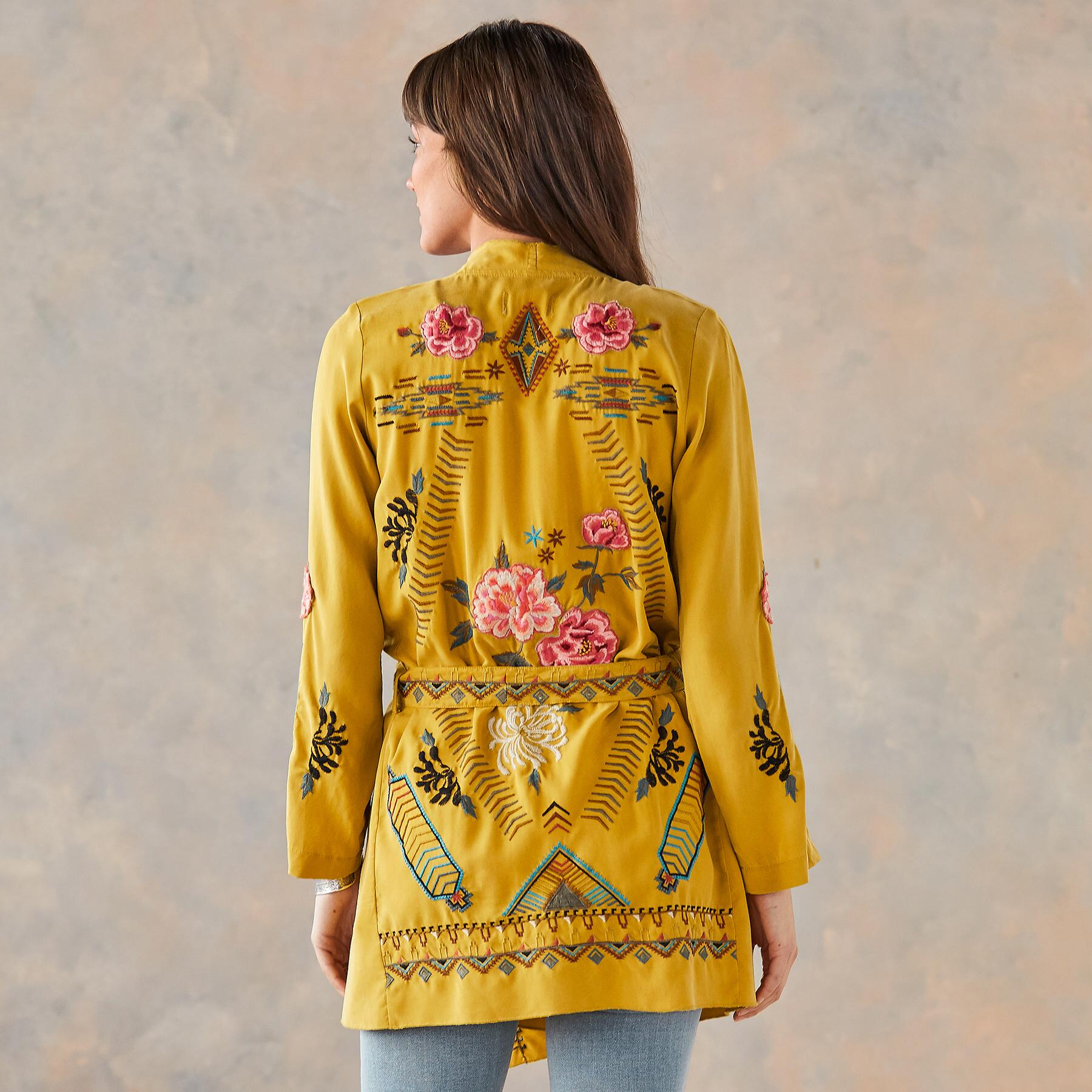 ABBY EMBROIDERED ROBE: View 5