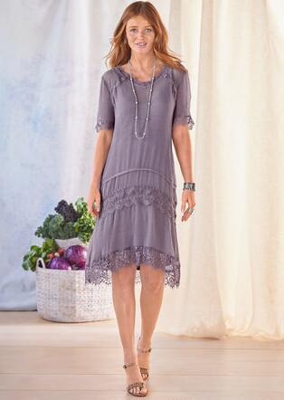 SAVANNAH DRESS - PETITES