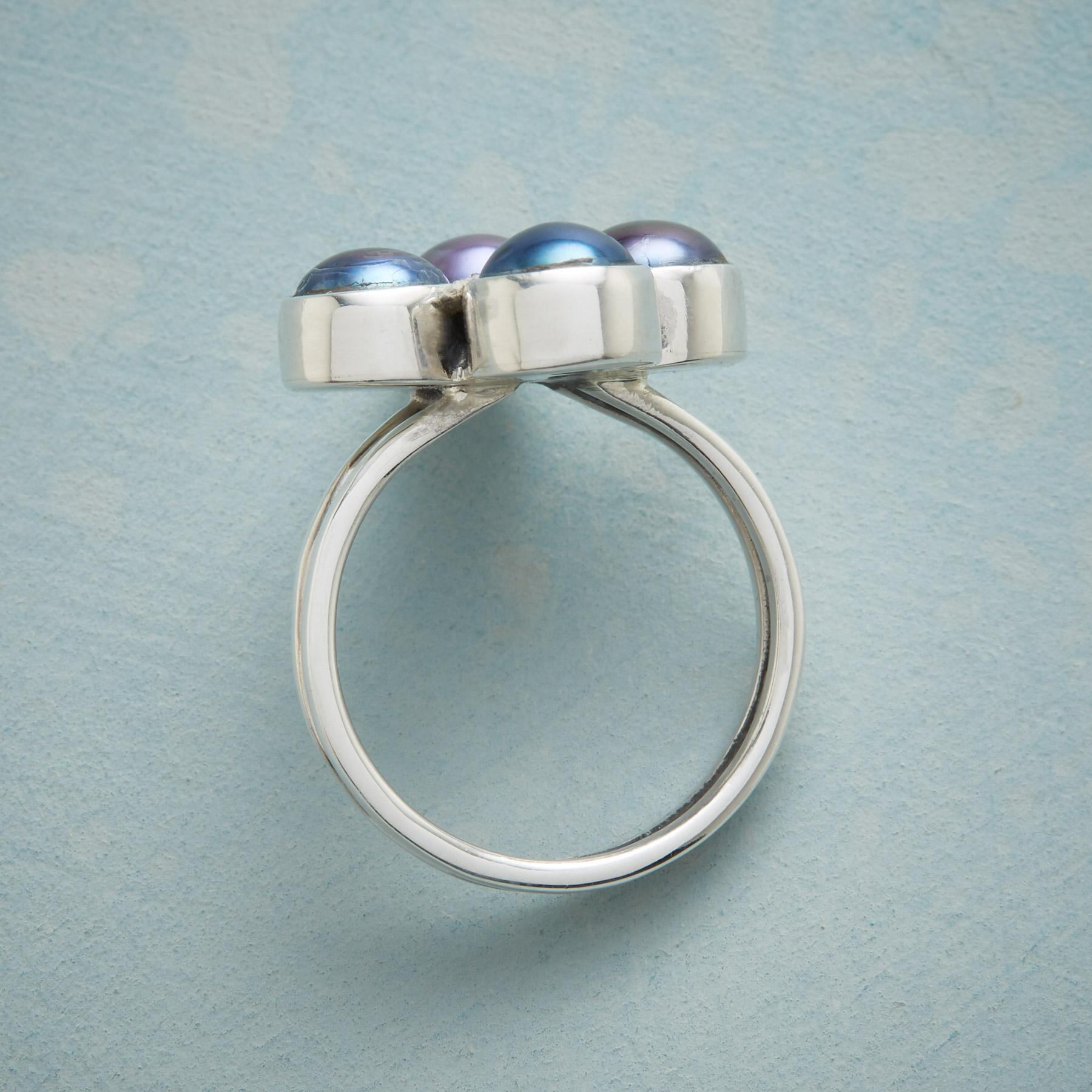 PEARL FOURSOME RING: View 2