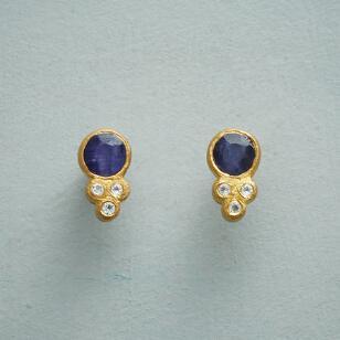 BELLISSIMO BLUE EARRINGS