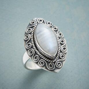 MAGICAL MOONSTONE RING