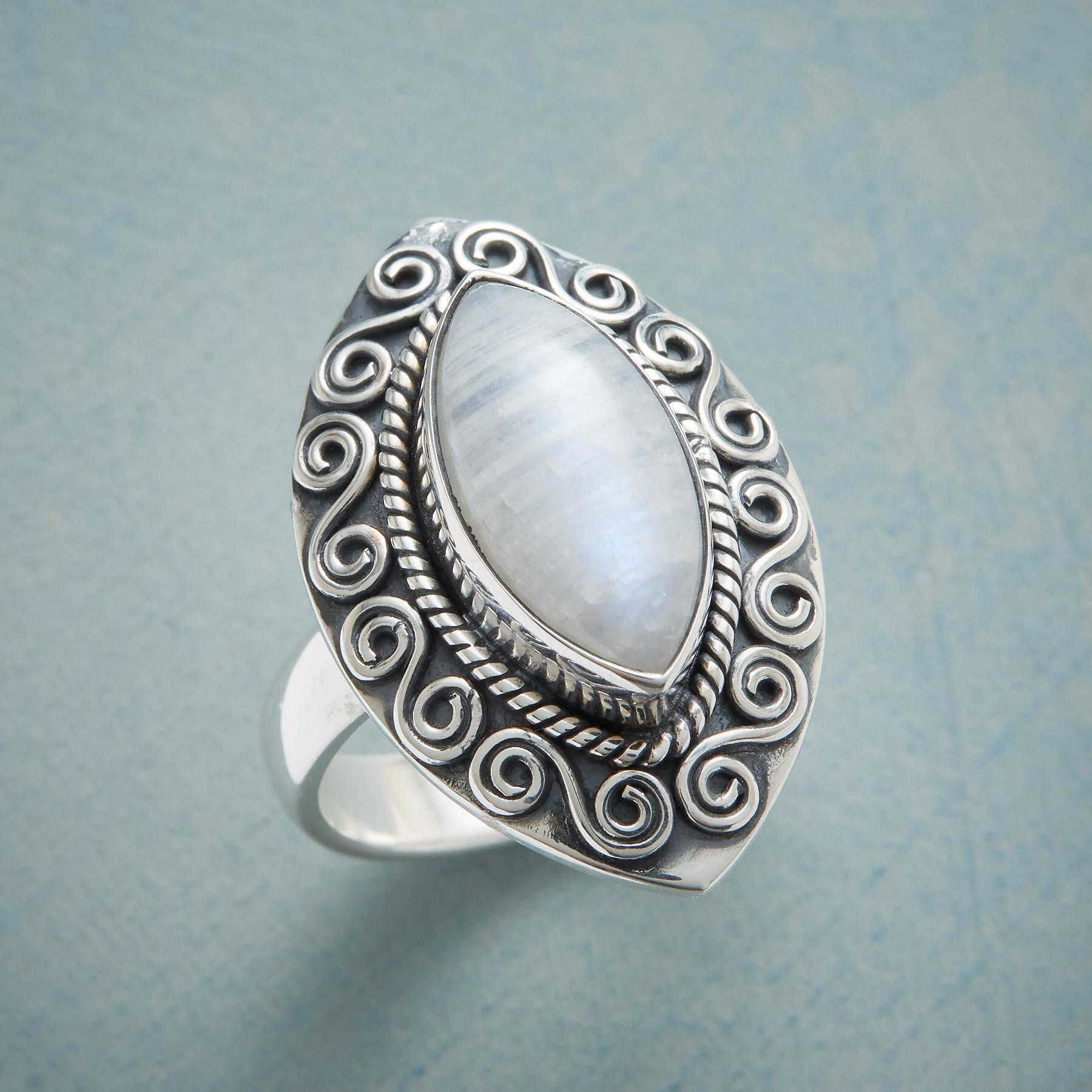 MAGICAL MOONSTONE RING: View 1