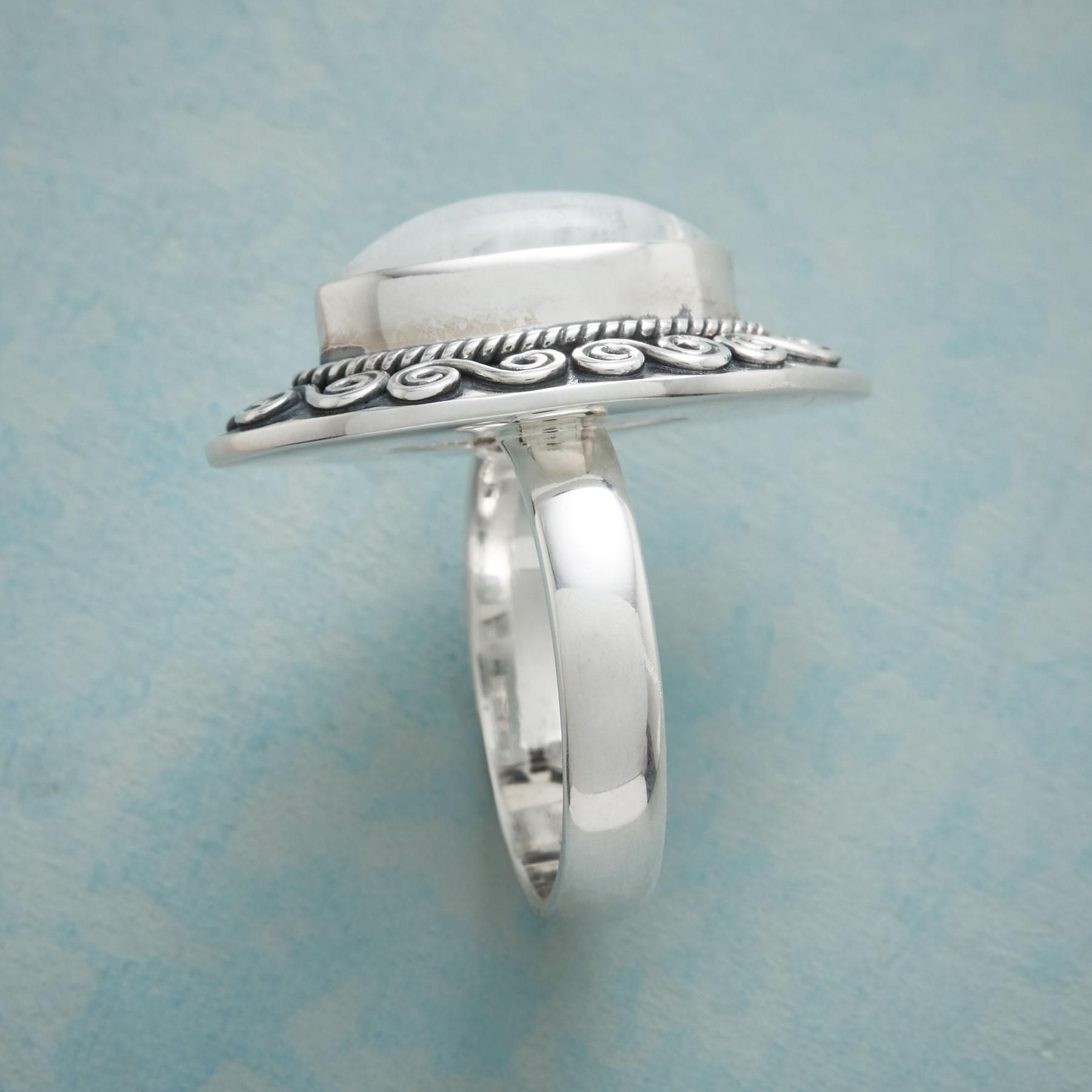 MAGICAL MOONSTONE RING: View 2