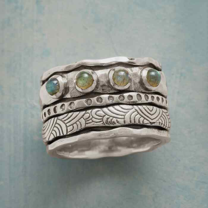 STUDY IN TEXTURES RING