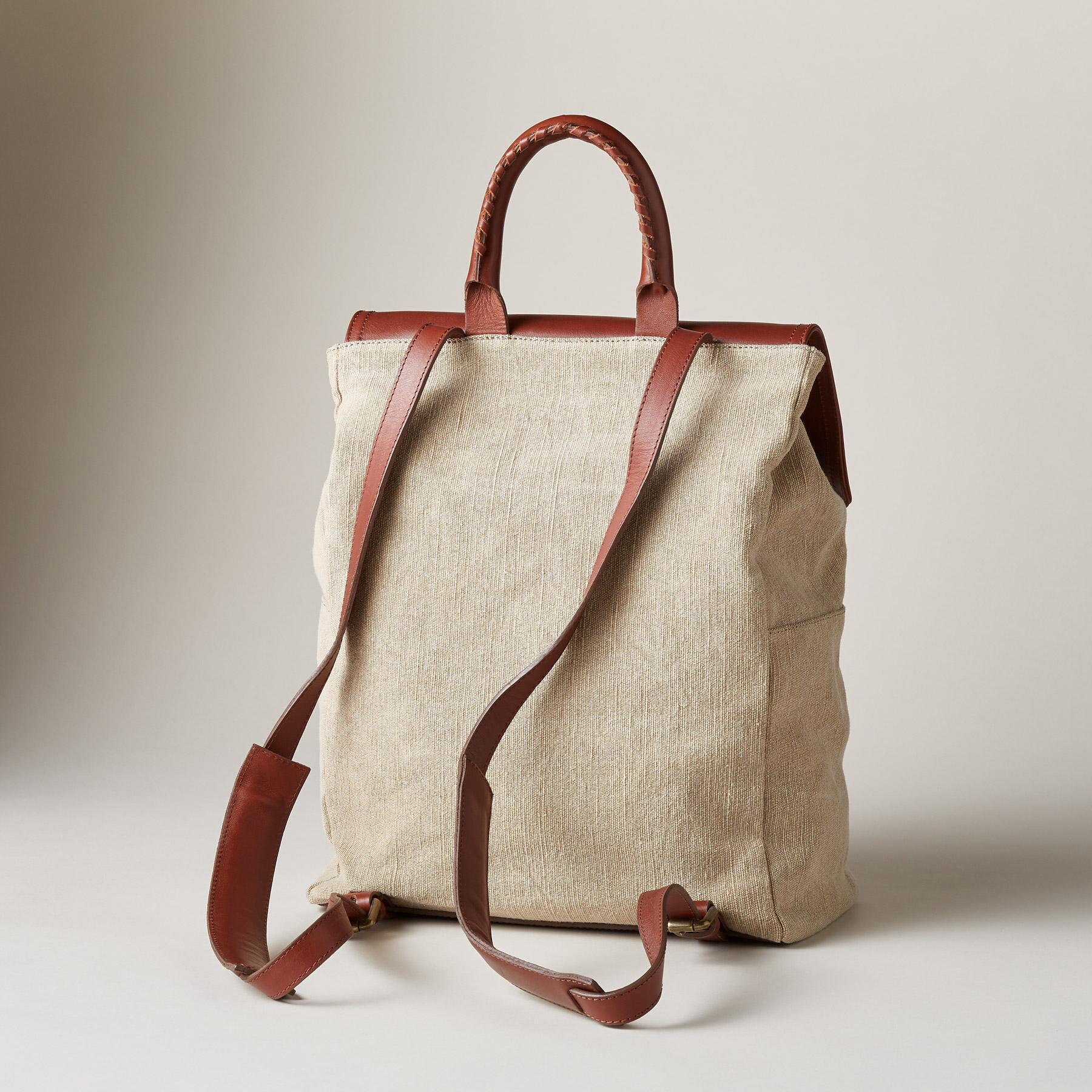 LINEN SIMPLICITY BACKPACK: View 2