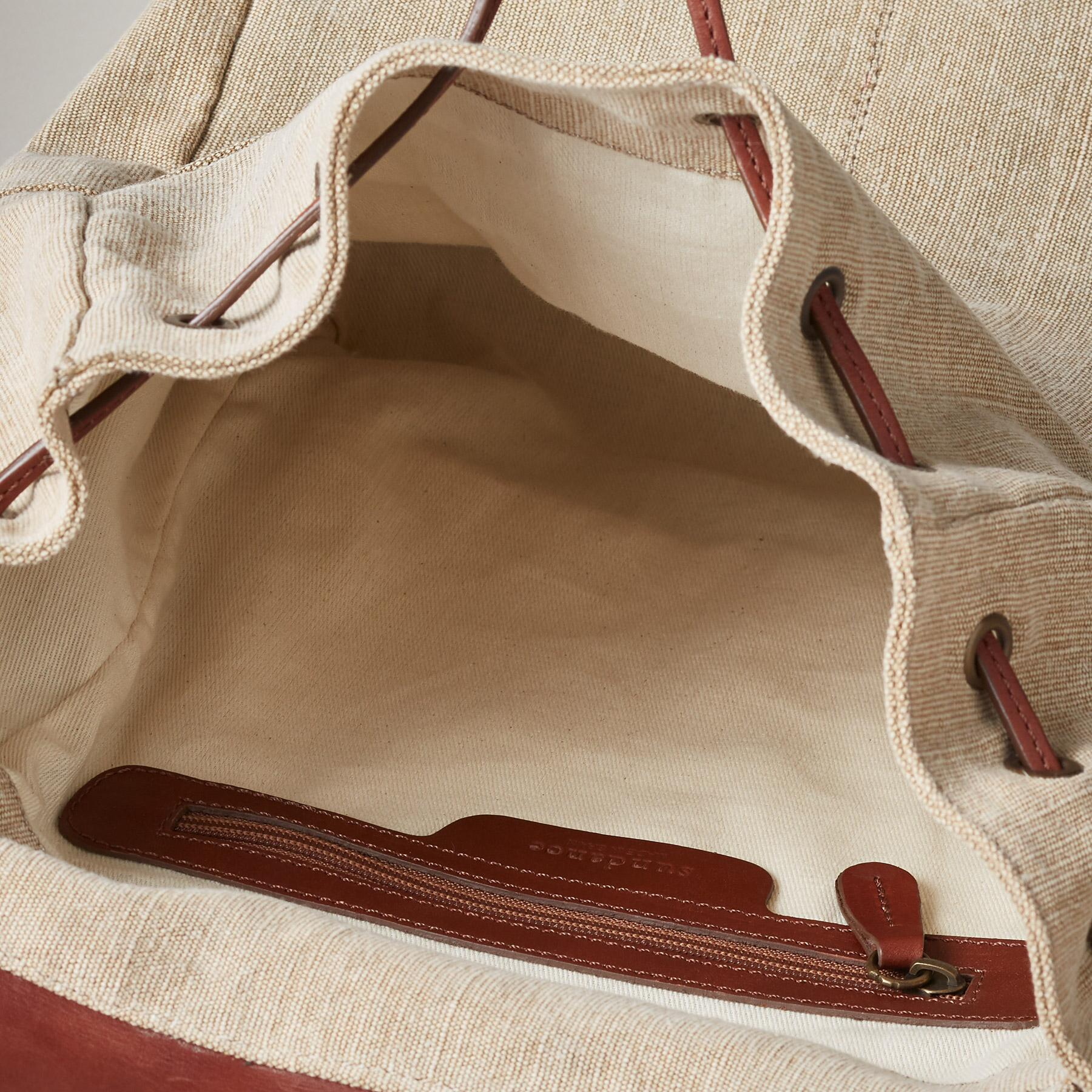 LINEN SIMPLICITY BACKPACK: View 3