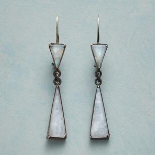 MODERN MOONSTONE EARRINGS