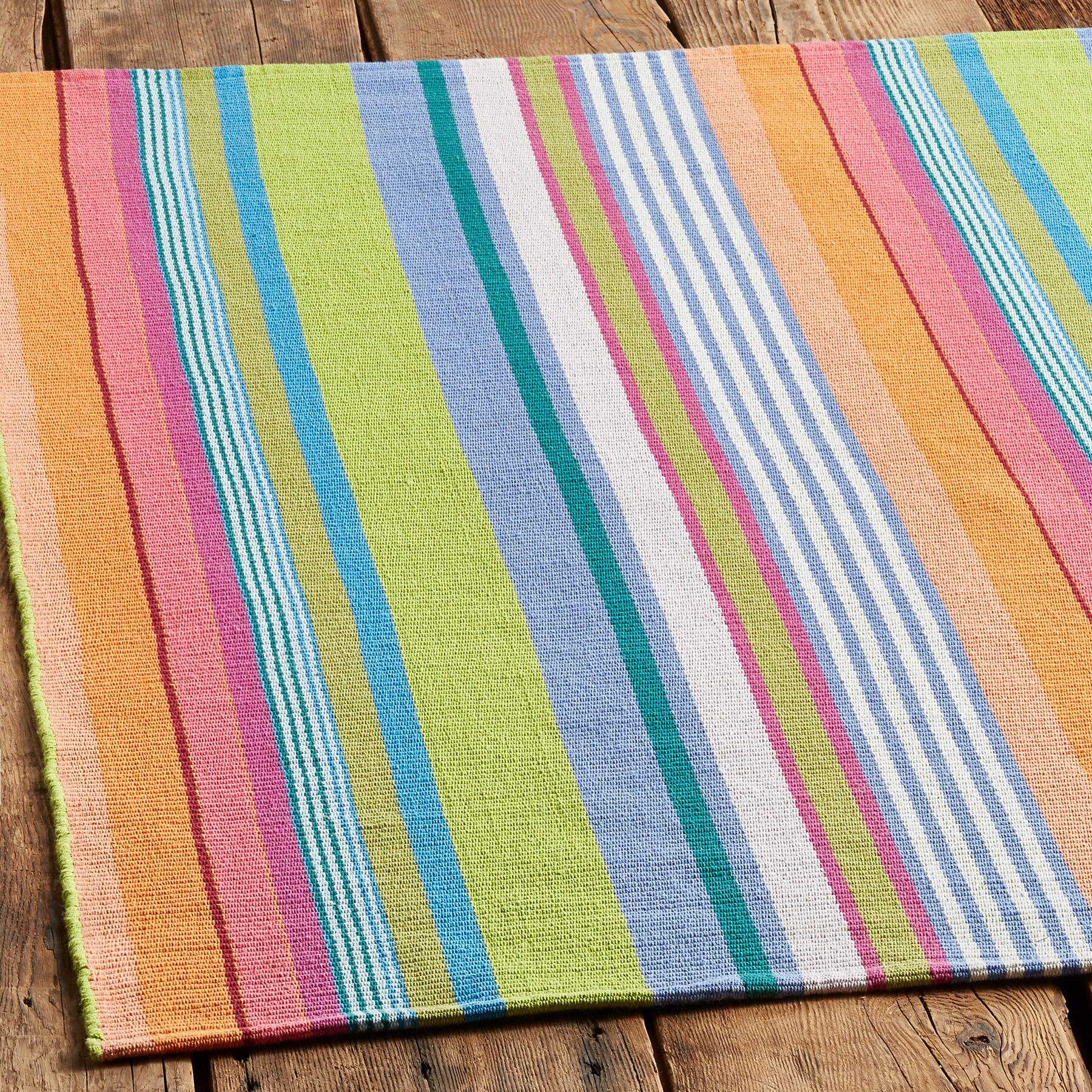 MONTEREY STRIPE RUG, LARGE: View 2