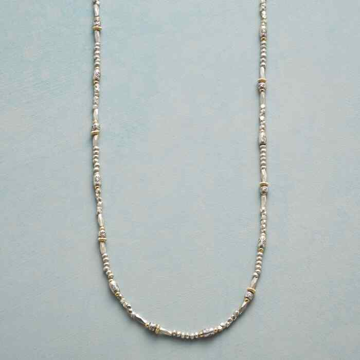 MINGLING METALS NECKLACE