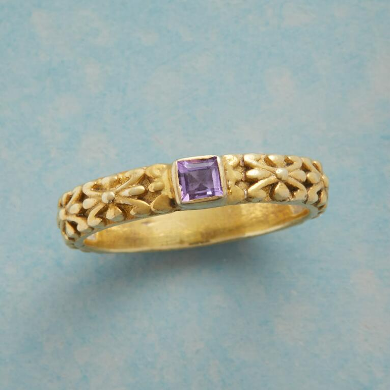 LAVISH LAVENDER RING