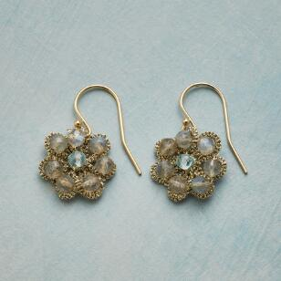 PURLED PETALS EARRINGS