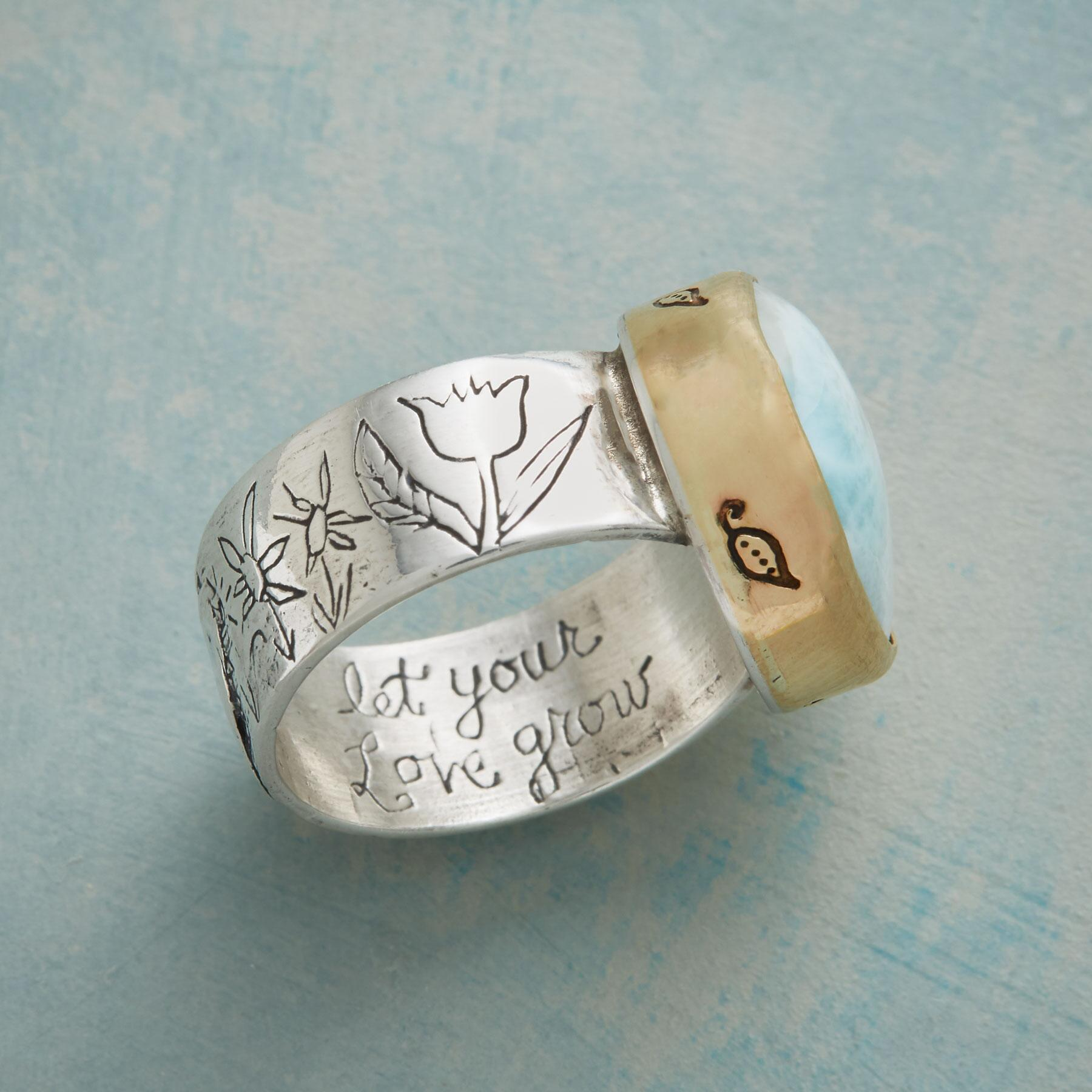BLOSSOMING LOVE RING: View 3