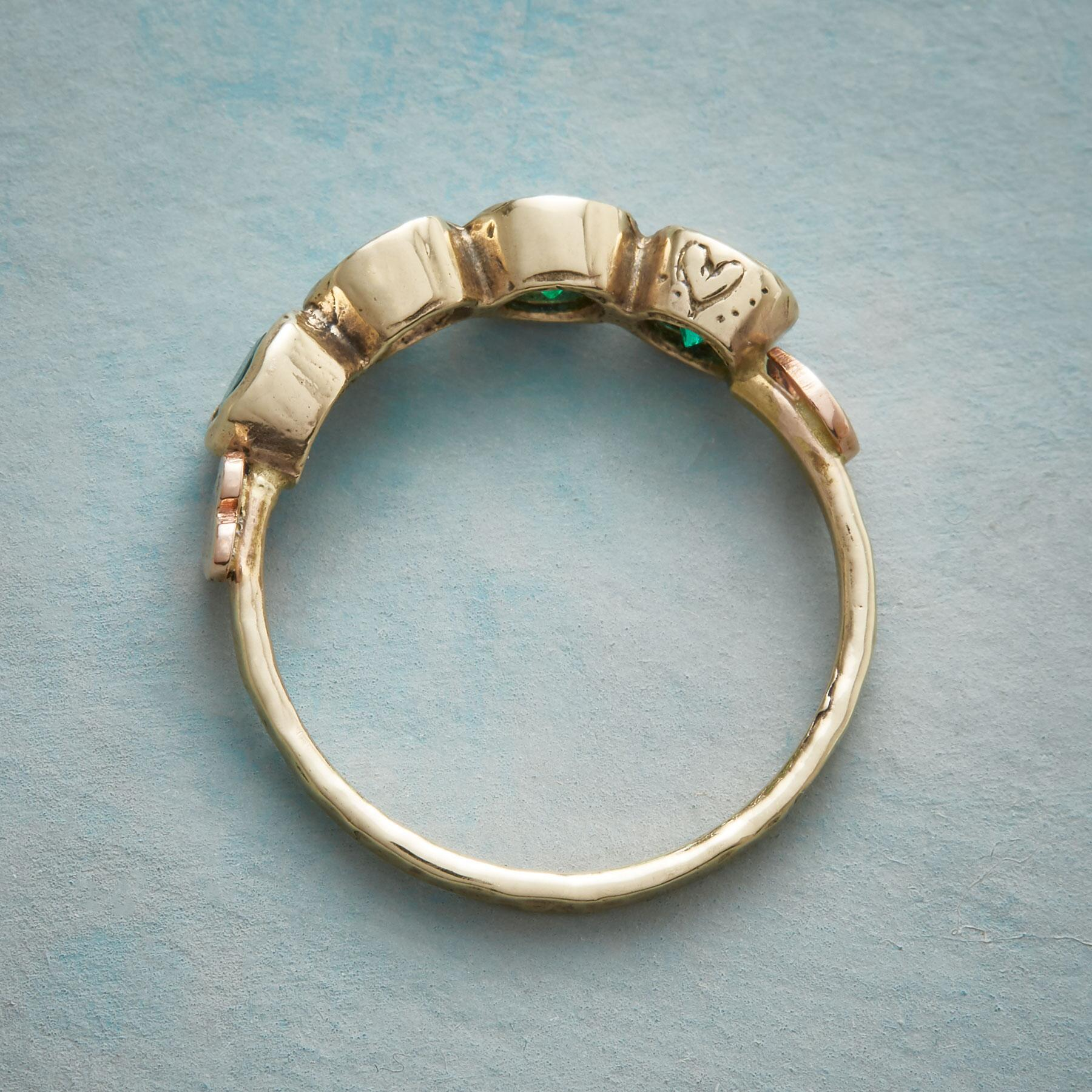 LUCKY EMERALD RING: View 4