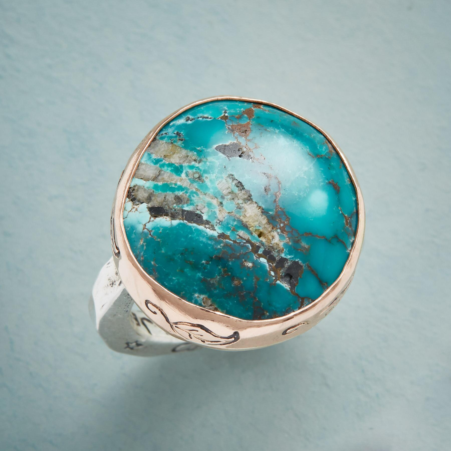 TRANQUIL TURQUOISE RING: View 1