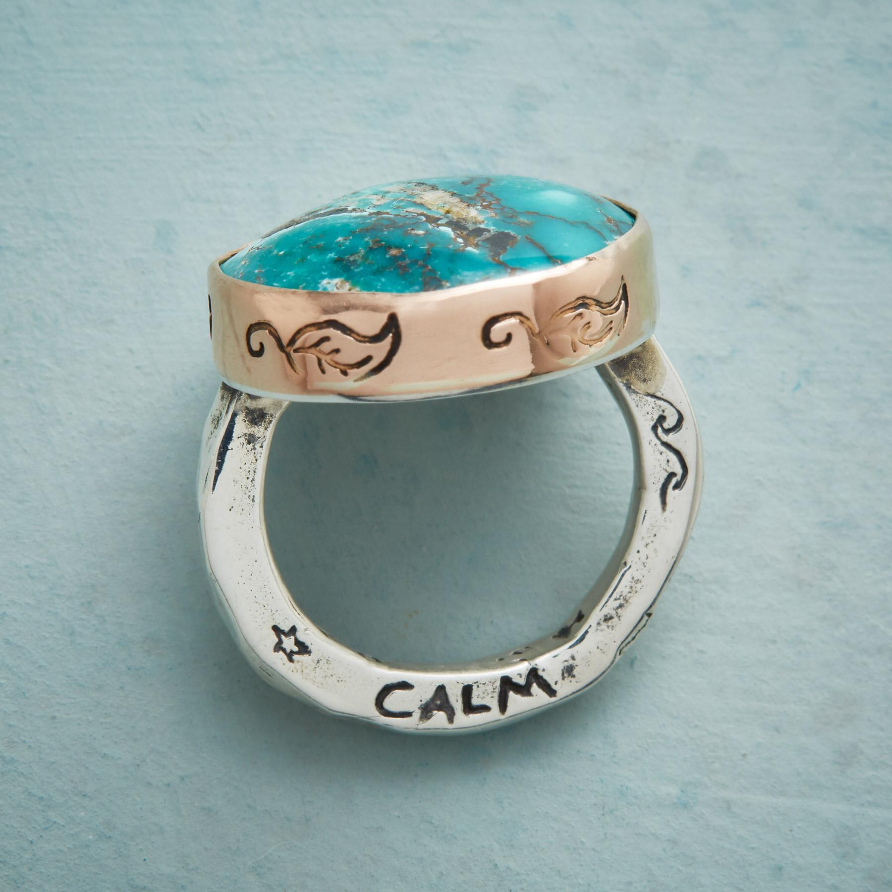 TRANQUIL TURQUOISE RING: View 2