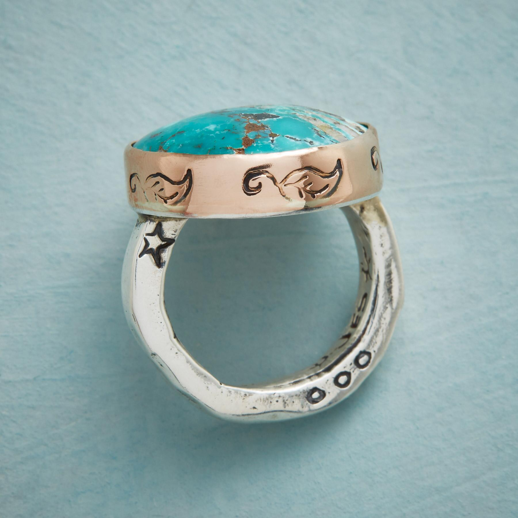 TRANQUIL TURQUOISE RING: View 3