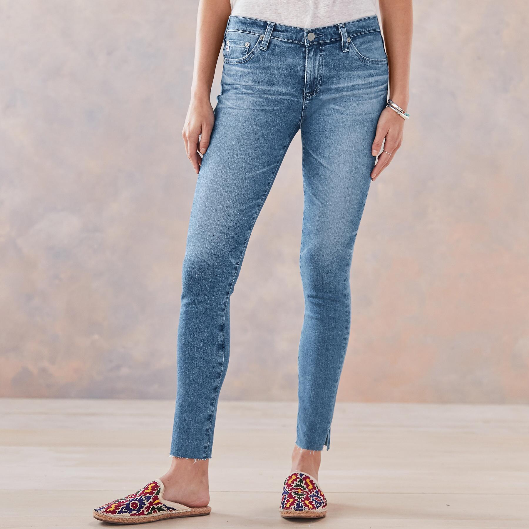 THE LEGGING ANKLE JEANS: View 1
