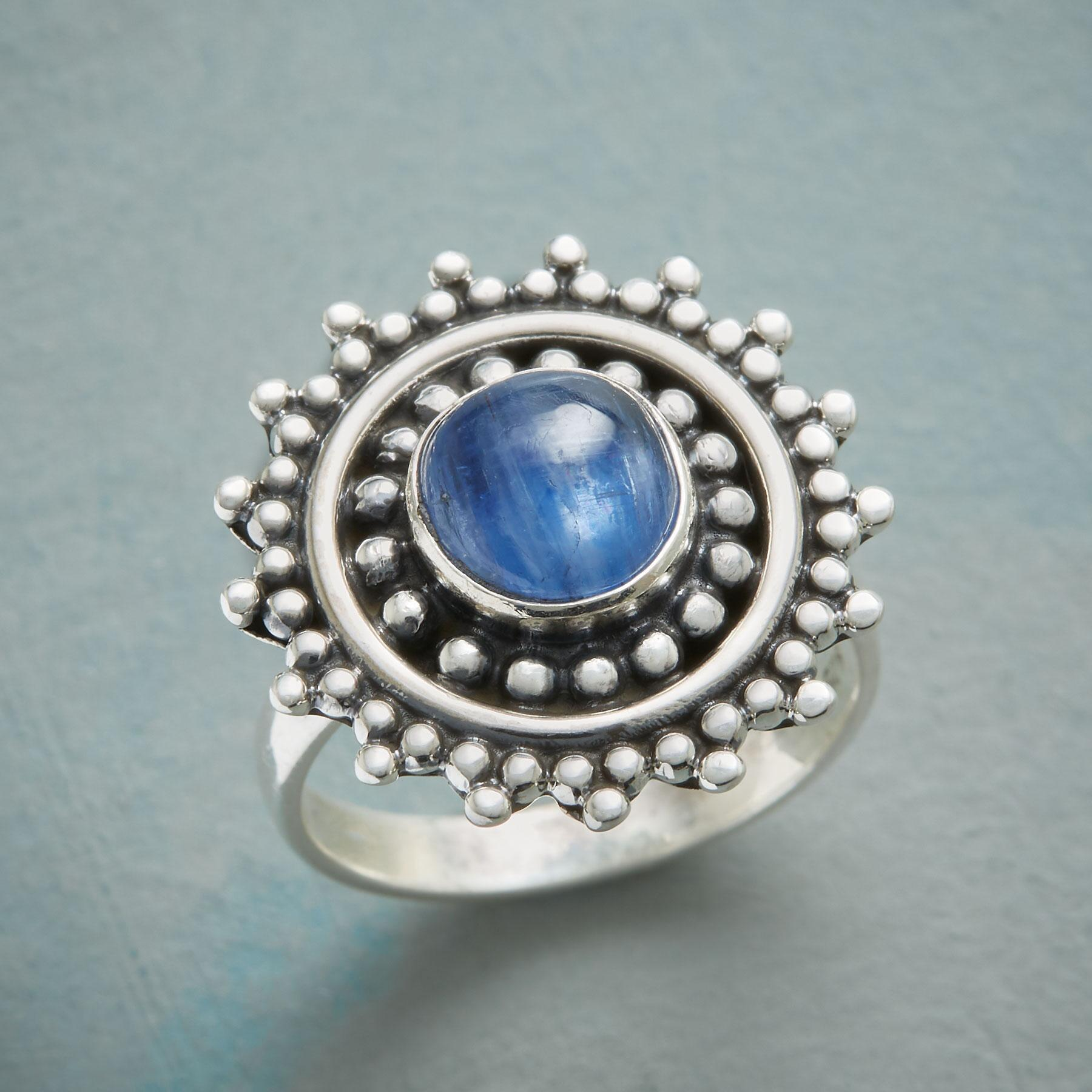 KYANITE SKY RING: View 1