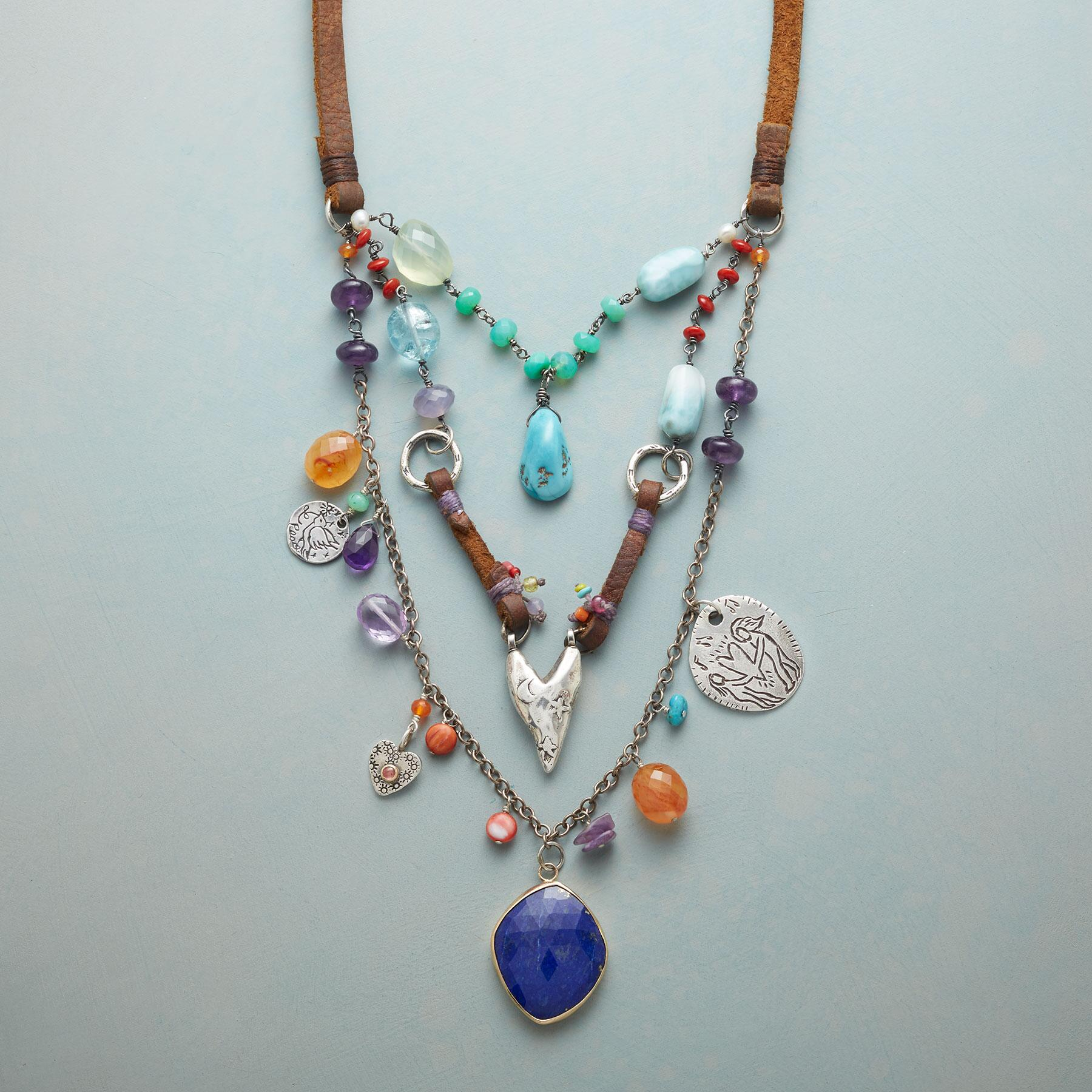 WISDOM OF LOVE NECKLACE: View 1